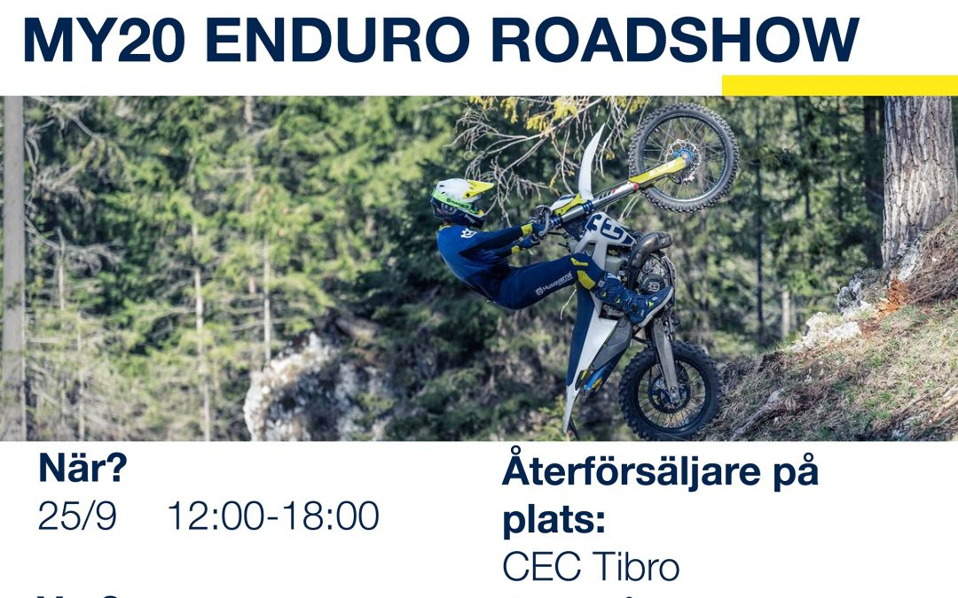 Husqvarna Roadshow MY20 25/9